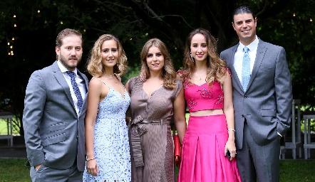 Pablo Torres, Lucía Martín Alba, Begoña Muriel, Ángeles Mahbub y Santiago Labastida.