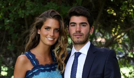 Ana Victoria de la Rosa y Héctor Mahbub.