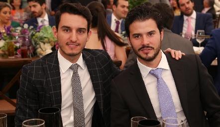 Enrique Díaz Infante y Claudio Meade.