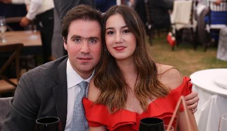 Lorenzo Milmo y Raquel Andrés.