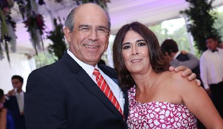 Pedro y Sandra Leal.