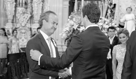 Ricardo Andrés y Alejandro Abud.
