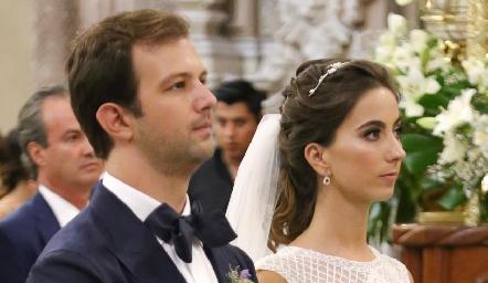 Boda de Alejandro Abud y Lorena Andrés.