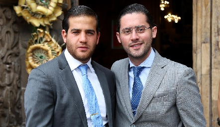 Samer Medlich y Abraham Salgado .