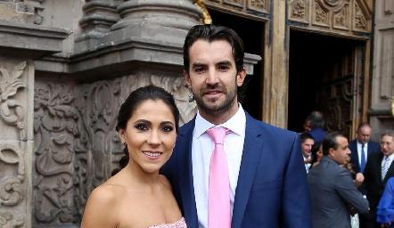 Sofía Díaz De León y Ricardo Torres.