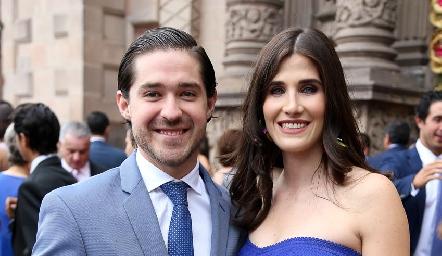Juan Pablo Barragán y Ana Pau Soto.