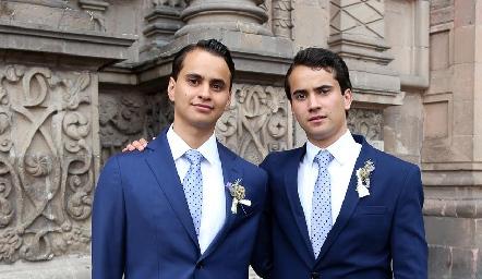 Hermanos Andrés Robles.