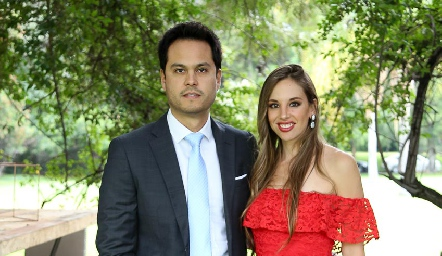 Beto Berrones y Melissa Compean.