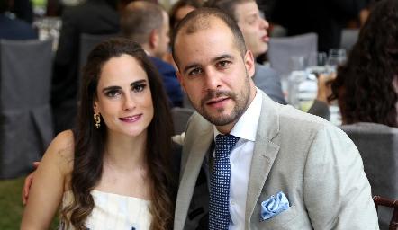 Jessica Medlich y Brohim Tanus .