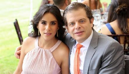 Irasema Abud y Juan Carlos Feres .