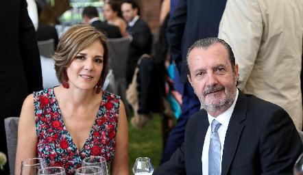 Cristina Barrett y Ángel Rivero.