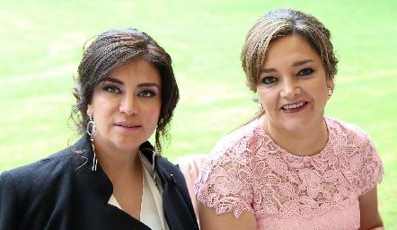 Mónica Gutiérrez y Martha Rangel .