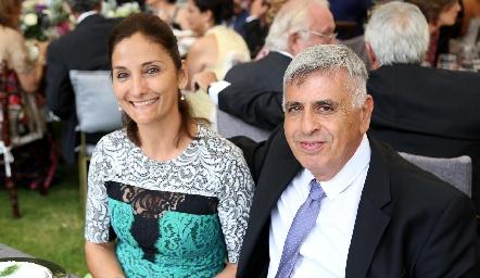 Laura Acevedo y Eduardo Marcos.