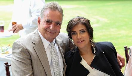 Daniel Dauajare y Mónica Gutiérrez .