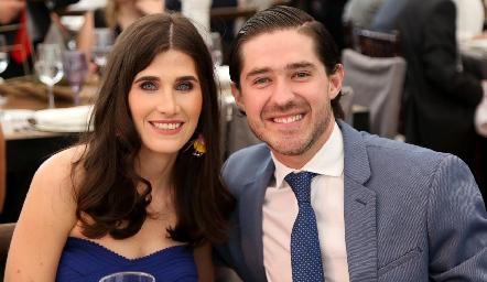Ana Pau Soto y Juan Pablo Barragán.