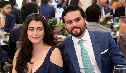 Mariana García y Rodrigo Labastida.