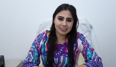 Dra. Paola Reyes Shiguetomi.
