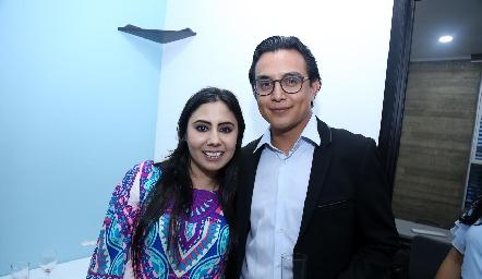 Dra. Paola Reyes y Carlos Peña.