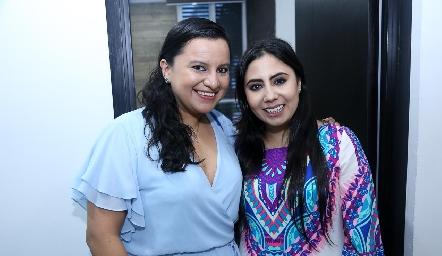 Mayra Martínez y Dra. Paola Reyes.
