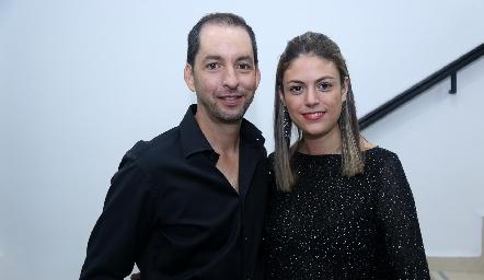 Héctor Bernal y Pamela.