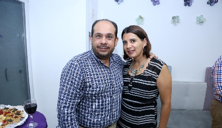 Luis González y Bárbara Zermeño.