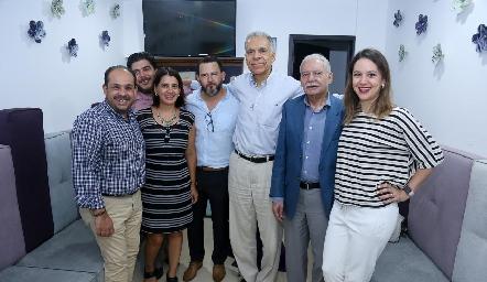 Familia del Dr. José Zermeño Nava .