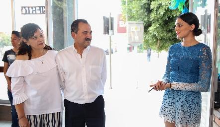 Georgina Jasso, Fernando Jiménez, María Fernanda Jiménez.