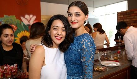Astrid y María Fernanda Jiménez .