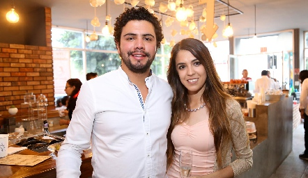 Jaime Ruiz y Daniela Narro.