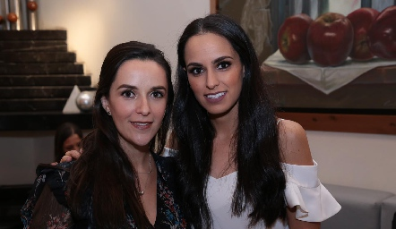 Mónica Zárate y Natalia Leal.