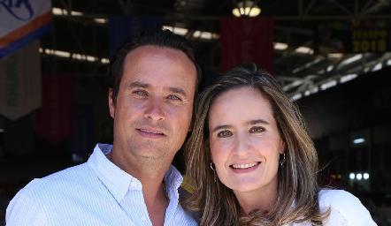 Jaime y Cynthia Valle.