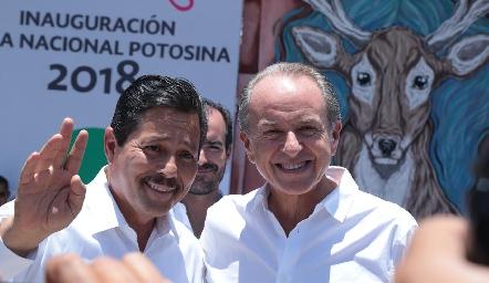 Ricardo Gallardo y Juan Manuel Carreras.