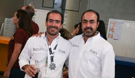 Manuel González y Gustavo Puente.