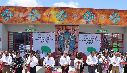 Inauguración FENAPO 2018.