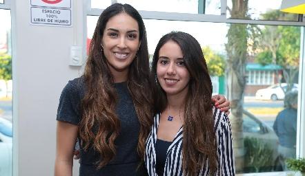 Sofía Delgadillo y Alejandra O'Farrill.