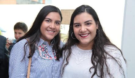 Isabella y Estefany Merchan.