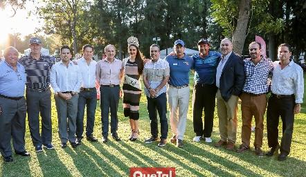 Inauguración del 52 Torneo Anual de Golf en el Campestre.