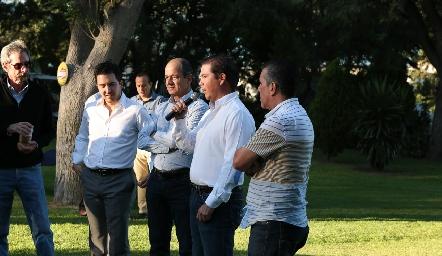 Jorge Acebo, Presidente del Consejo de Administración del Club Campestre.
