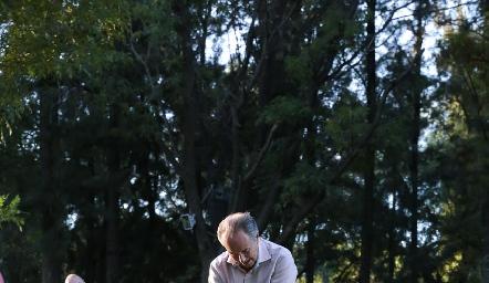 Inauguración del 52 Torneo Anual de Golf en el Campestre .