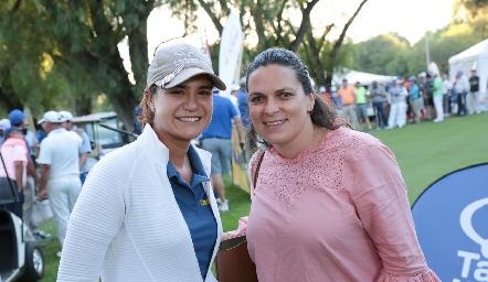 Lorena Rivera y Patricia Huerta.