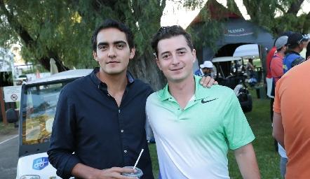 Mauricio Sánchez y Oscar Rangel.