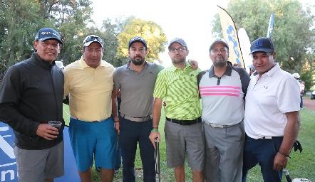Rubén Darío, Oscar Mauricio, Manuel Alatorre, Mauricio Osorio, Toño de la Torre y José Juan Izar.