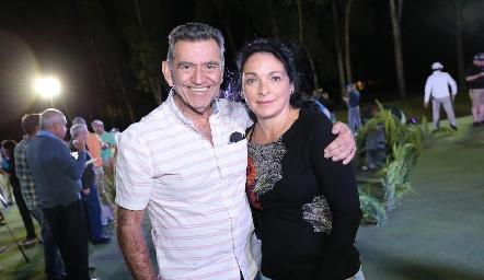 Mayorico y Ligia Hidalgo.