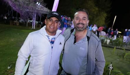 Carlos Barragán y Ricardo Trujillo.