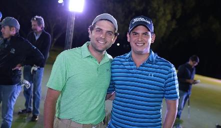 Federico Díaz Infante y Antonio Morales.
