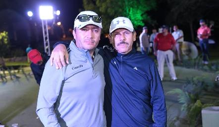 Chava Gutiérrez y Alfredo Palma.
