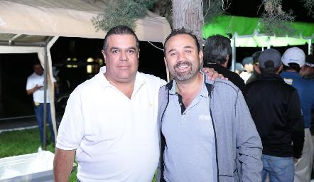 Carlos Esparza y Ricardo Trujillo.