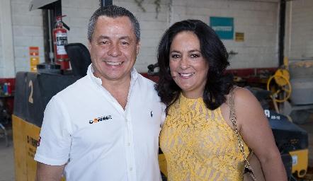Lisandro Bravo y Laura de Bravo.