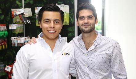 Lisandro Bravo y Mauricio Canales.