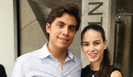 Mario Martell y Sandra Villalobos.